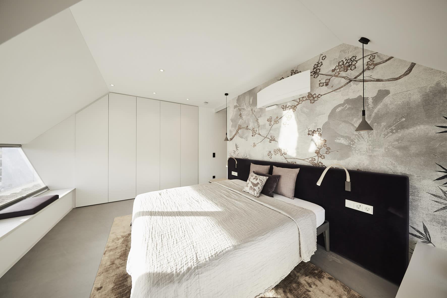 minimal master bedroom