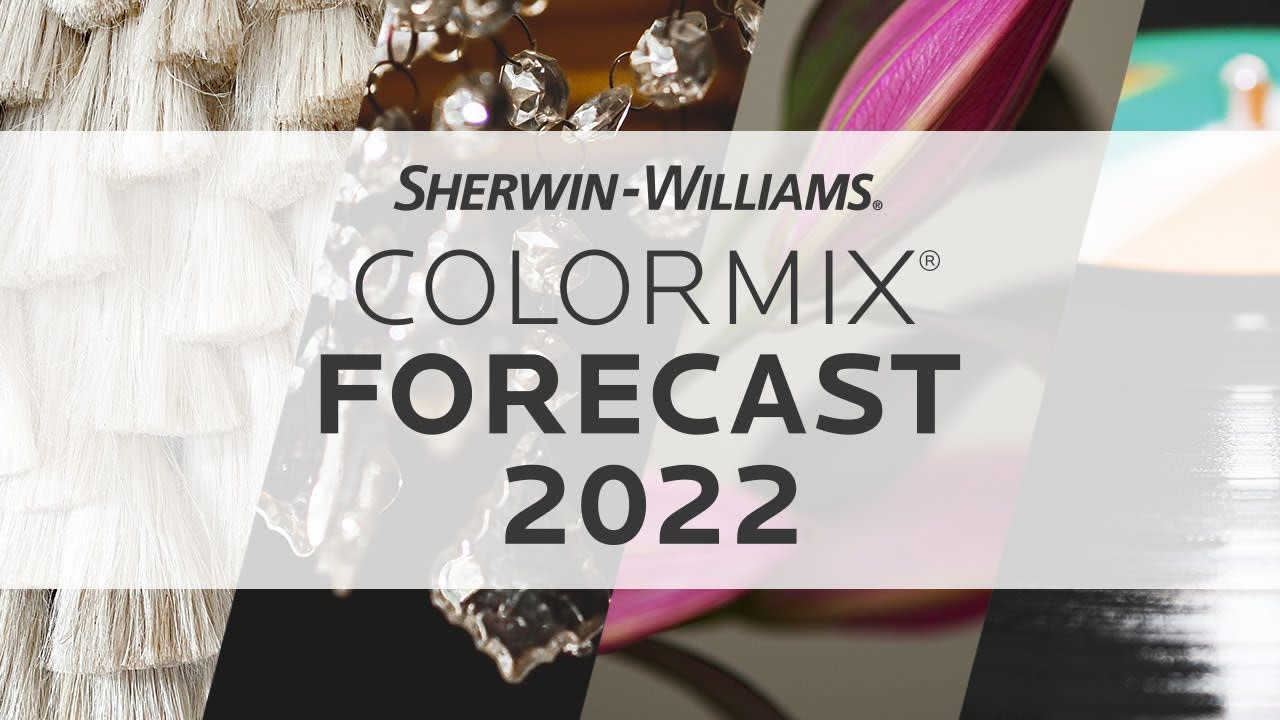 announcement for sherwin-williams Colormix 2022 event