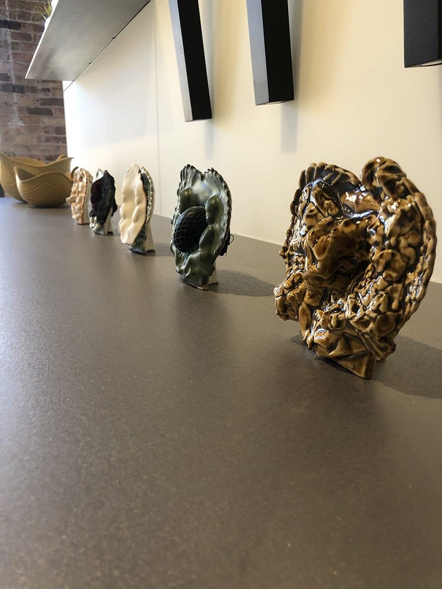 sculptures by local chicago artist bobbi meier
