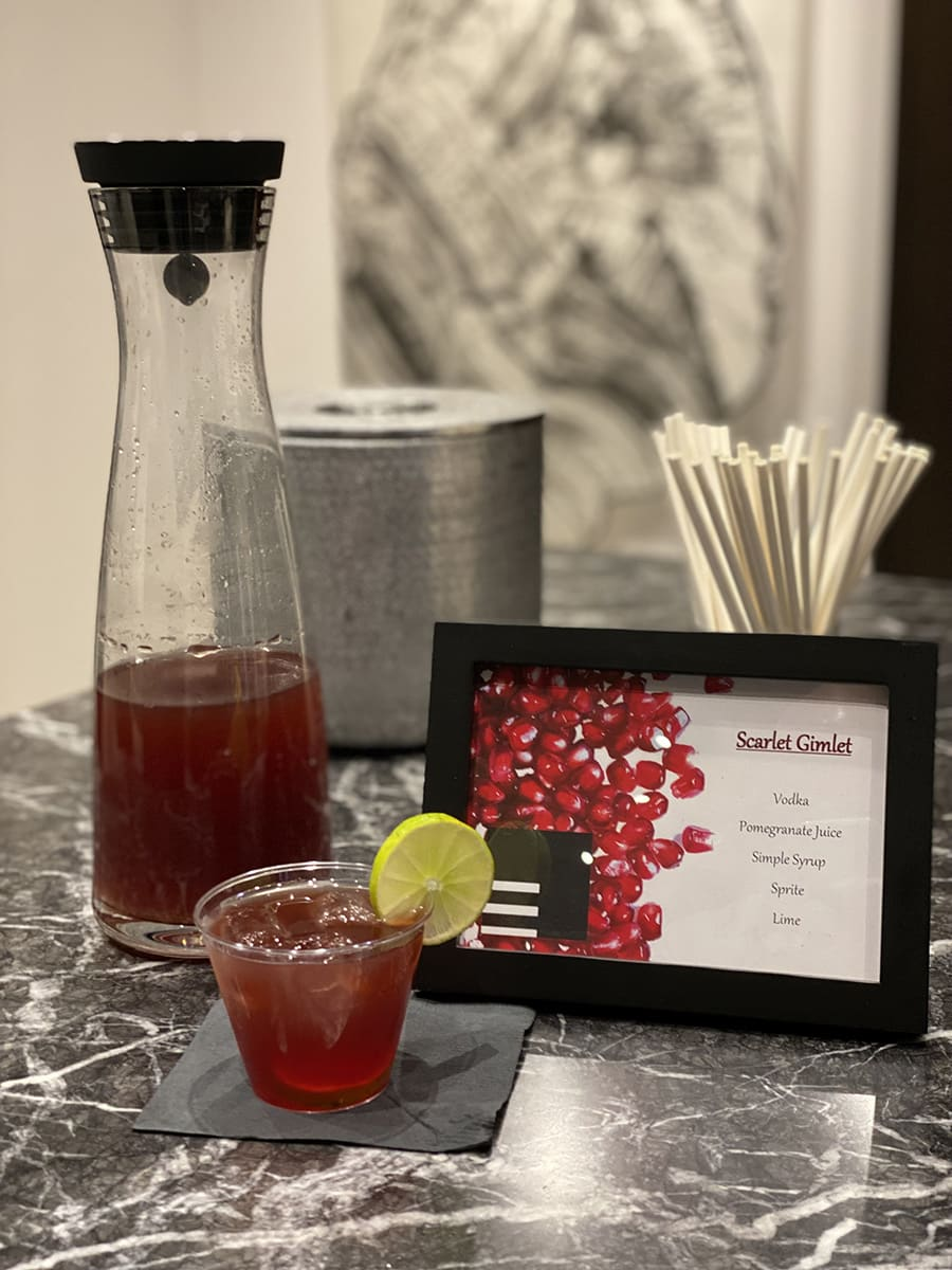 scarlet gimlet cocktail