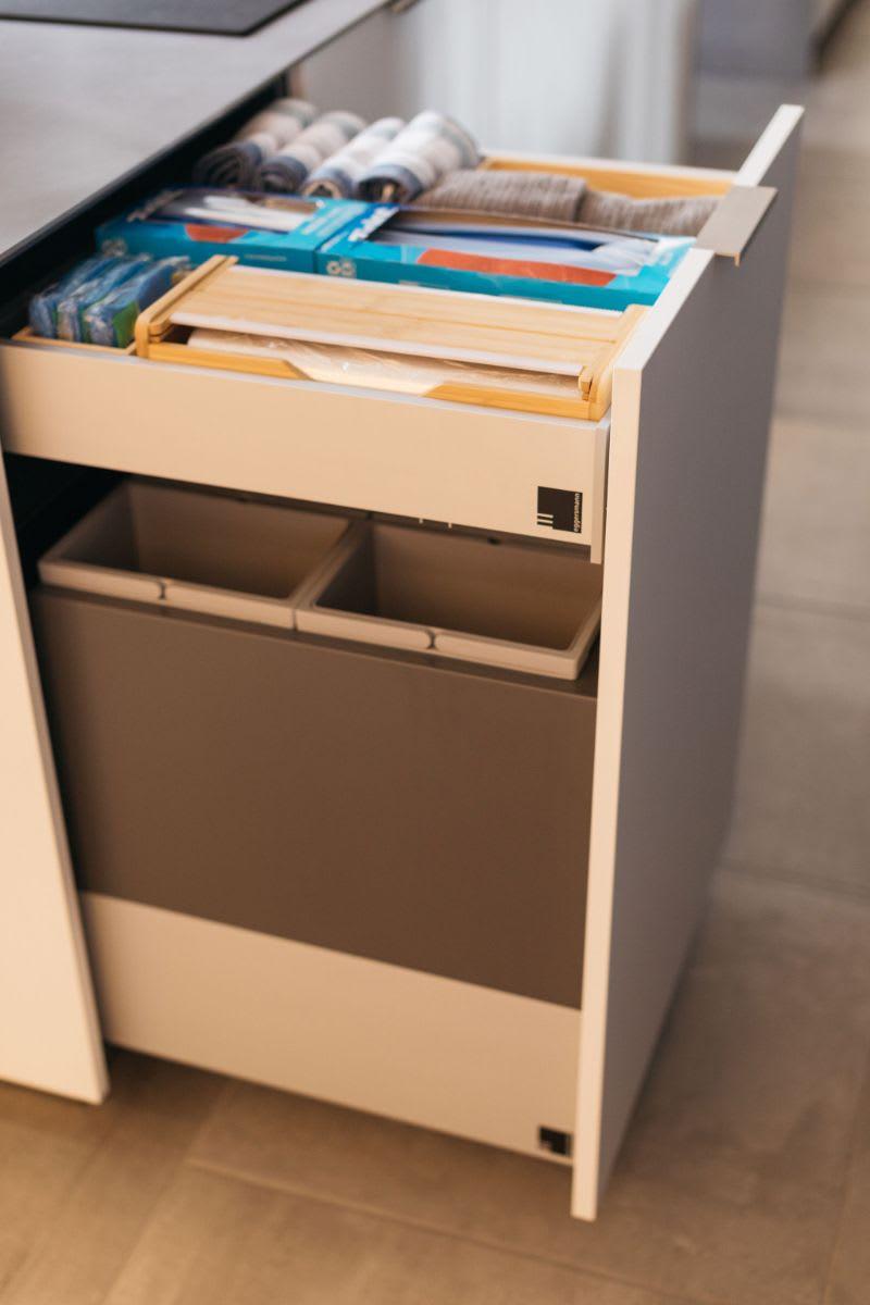 eggersmann BoxTec custom drawer organizers and recycling bins