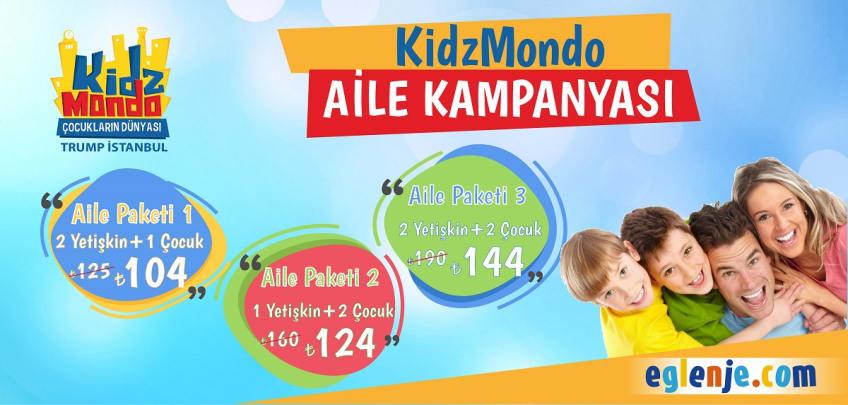 KidzMondo Aile Biletleri