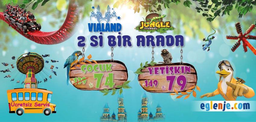 Vialand Jungle İstanbul İkisi Bir Arada