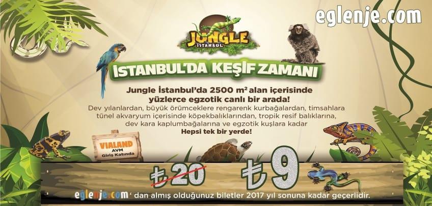 Jungle İstanbul Giriş Ücreti