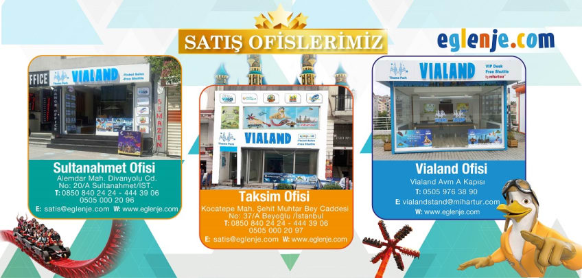 Vialand Satış Ofisleri