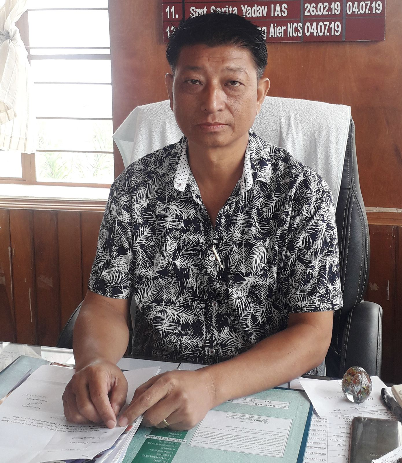 Shri. Sentiwapang Aier
