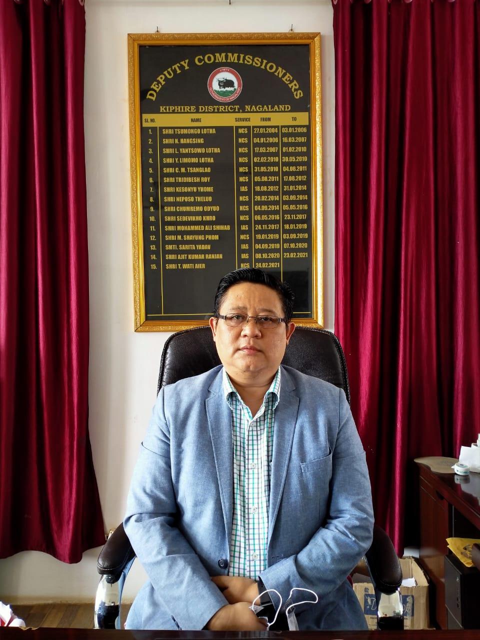 Shri. T Wati Aier, NCS