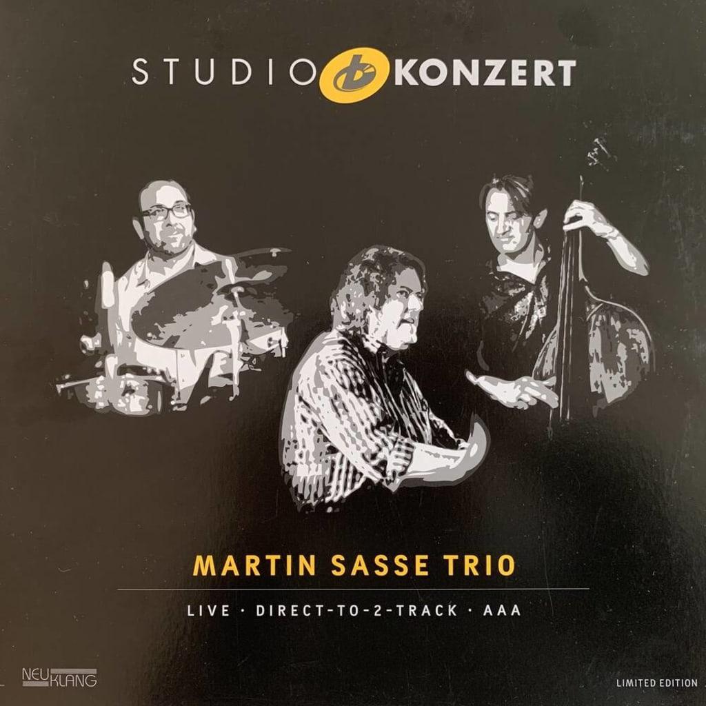 Martin Sasse Trio, Studio-B Konzert