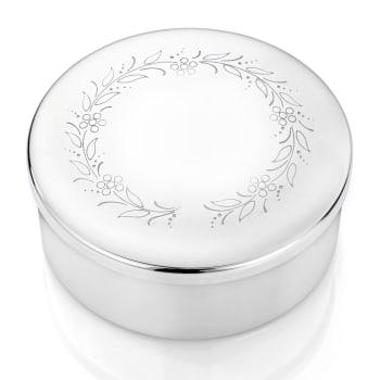 Smykkeskrin i sølv