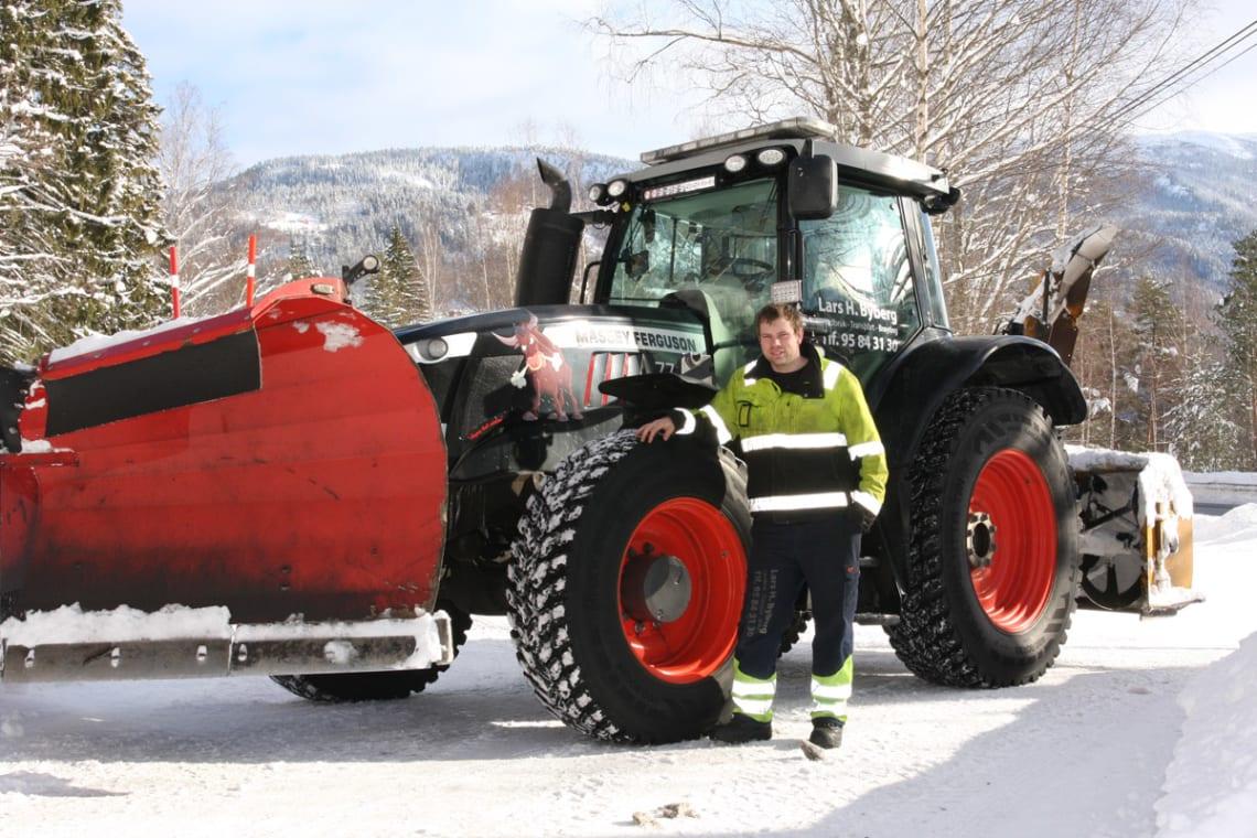 En traktor utenom det vanlige