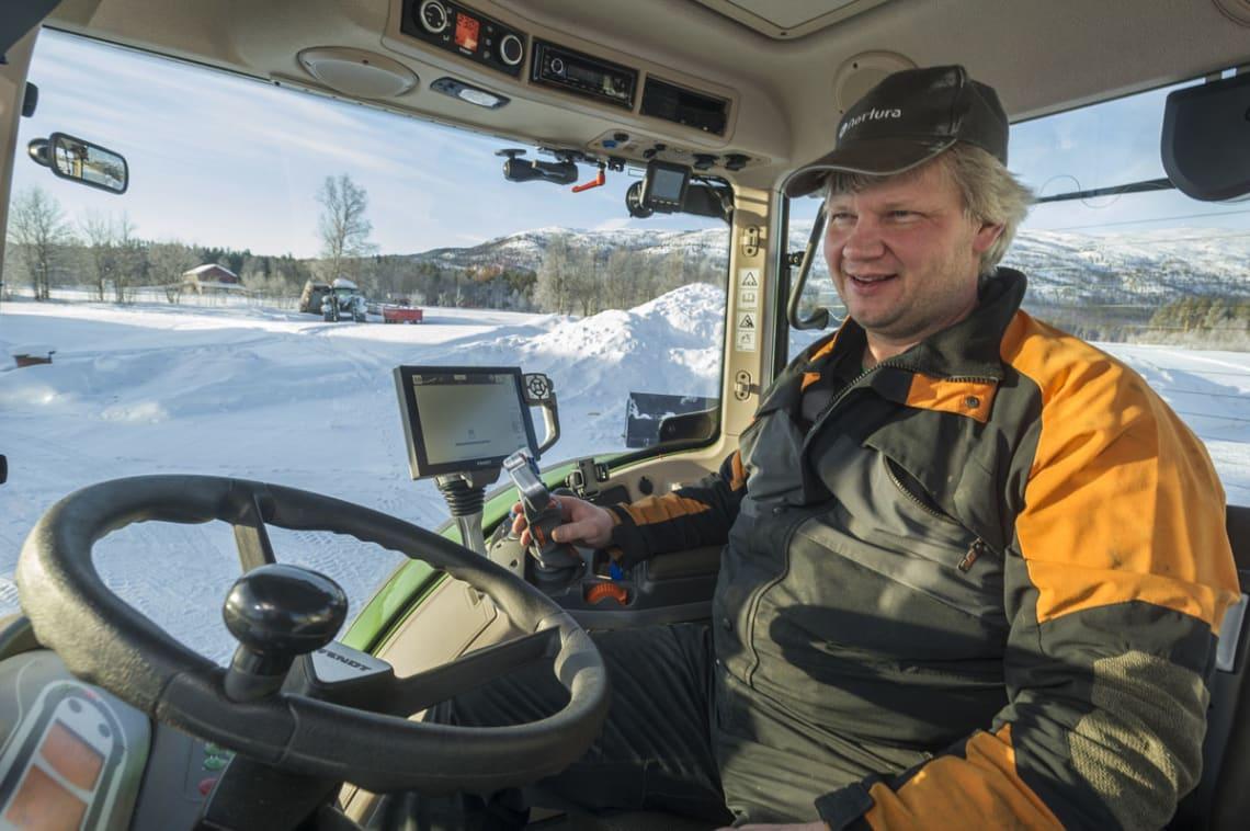 3 x 313 med GPS i nord