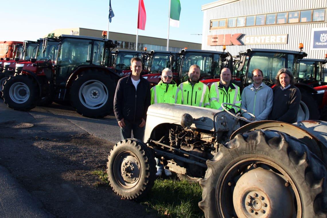 Har bestilt 20 Massey Ferguson-traktorer