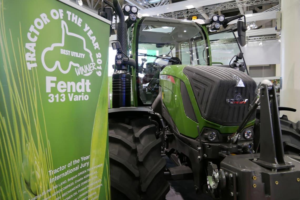 Fendt 313 årets traktor