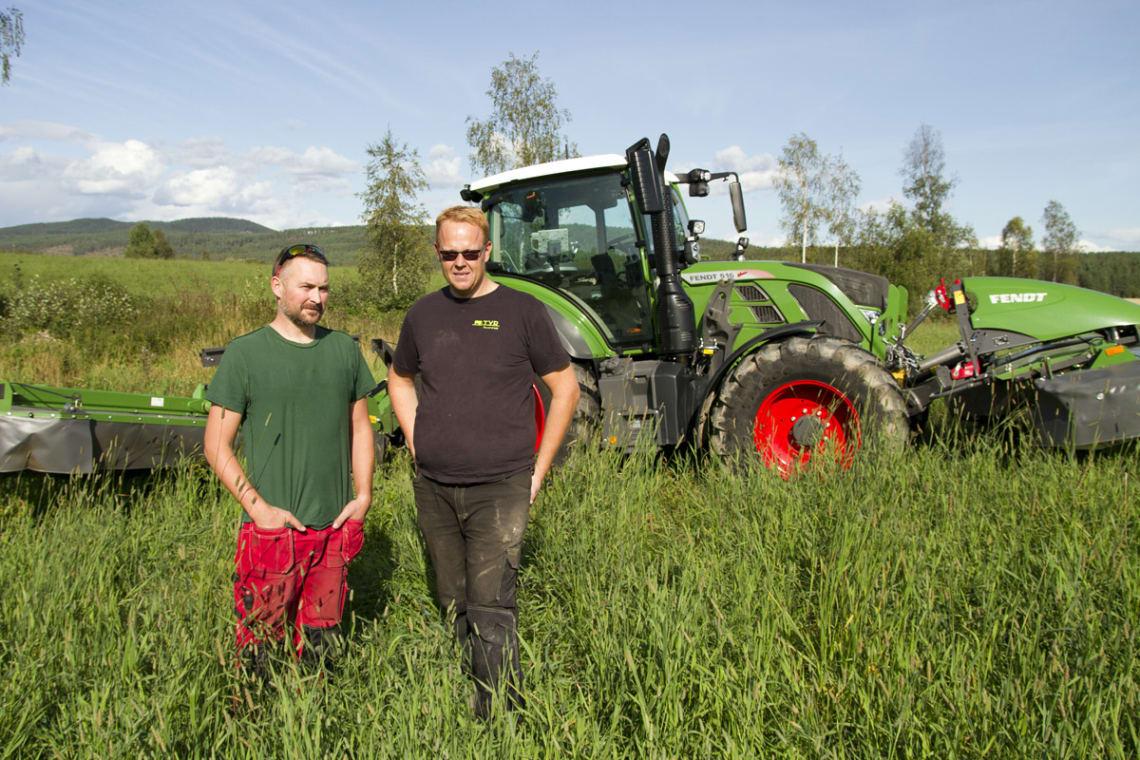 Effektiv grashøsting med Fendt