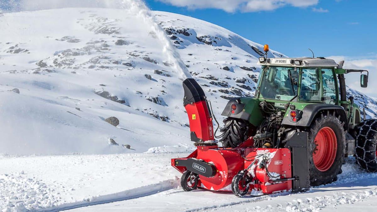 Redskap til traktor