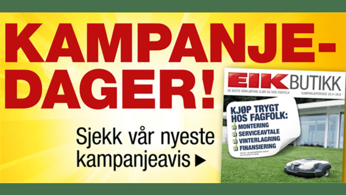 Vårkampanje hos Eiksenteret