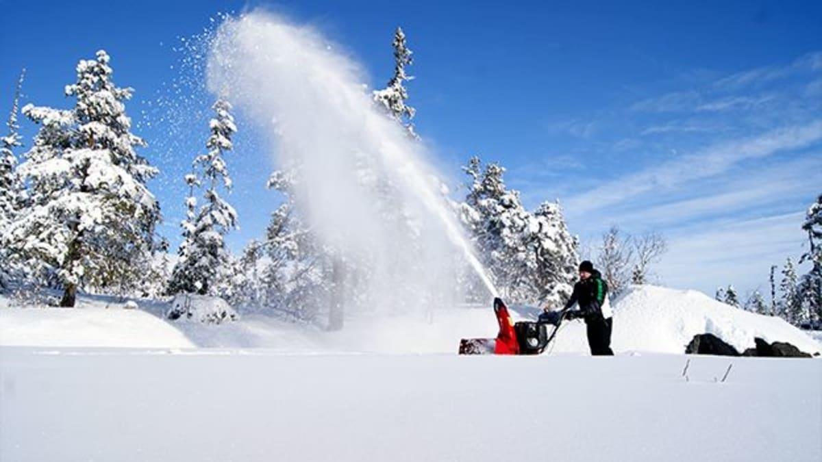 Snøfresere fra Honda