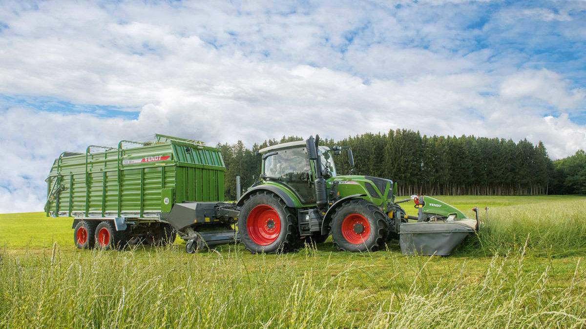 Fendt Tigo MR/MS lessevogn