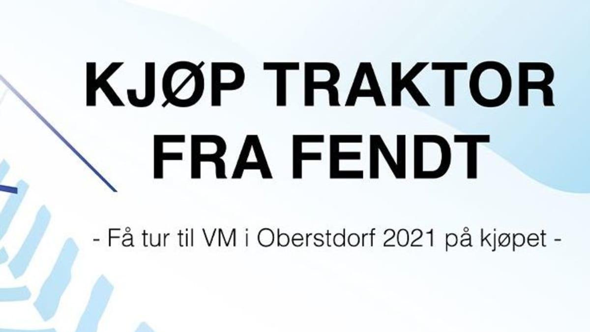 Kjøp Fendt - Dra til VM i Oberstdorf