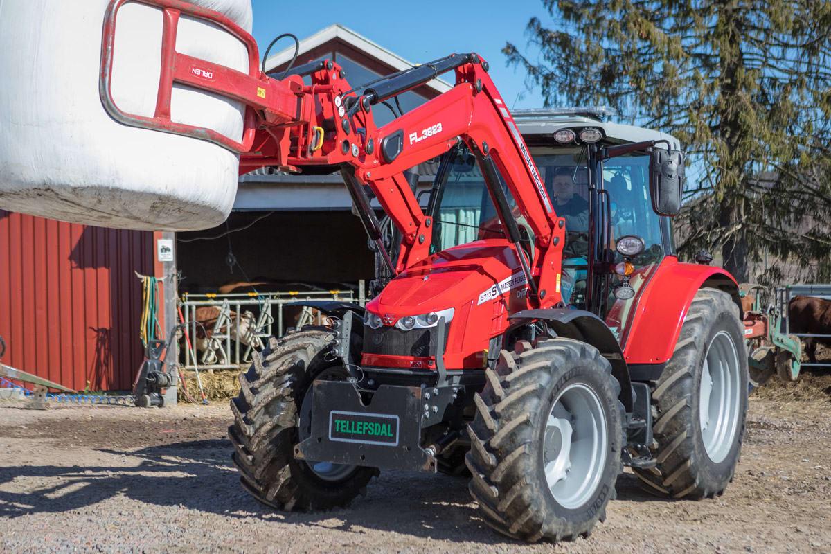 MF 5713 S gir forutsigbare månedlige kostnader
