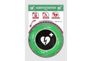 Rotaid Utendørs hjertestarterskap med rask-respons tavle, varme og belysning