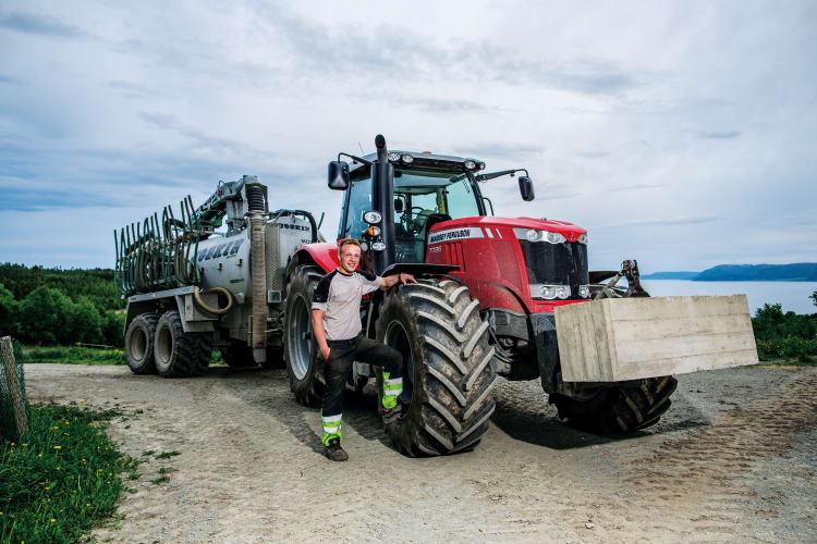 En traktor for de tøffe oppgavene