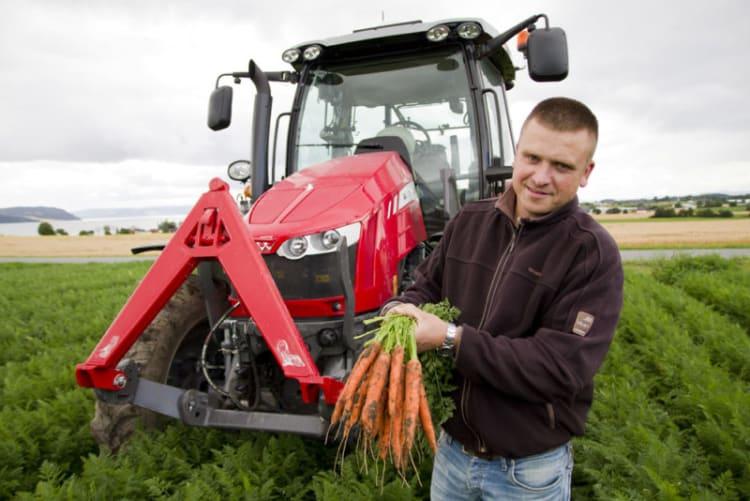 GPS forenkler salatproduksjonen