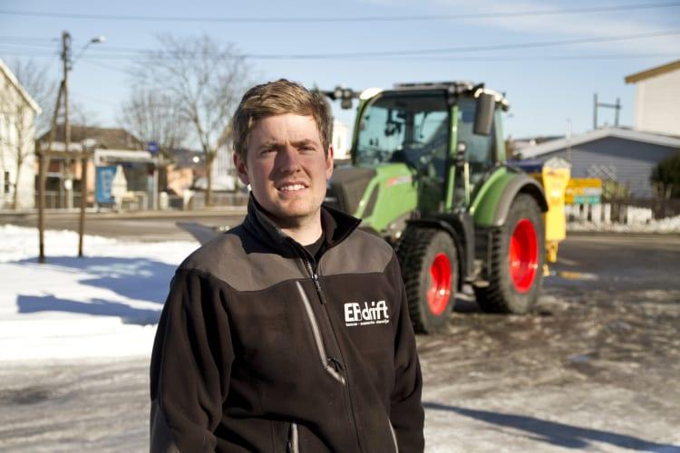 Sju traktorer til vedlikehold i Oslo