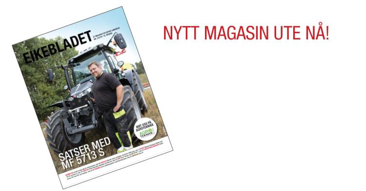 Eikebladet 2/2018 er ute nå