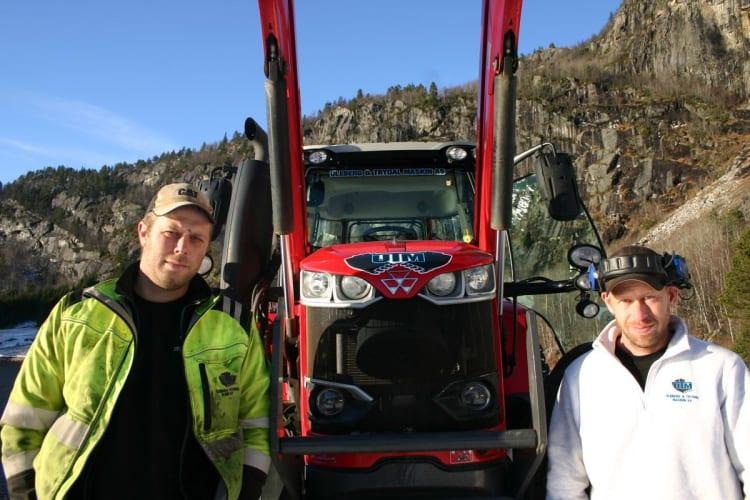 Komfortabelt, trygt og effektivt med Massey Ferguson på fjellet