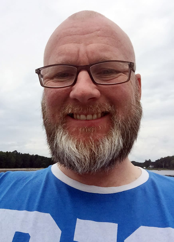 Paramedic Hugo Kjellemo i First Aid Nordic.