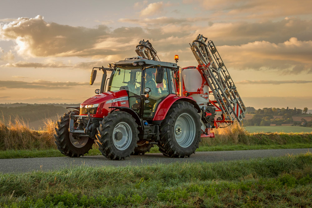 Nyheten MF 5709 S utfyller MF 5700 S-serien, og har en 95 hk motor.