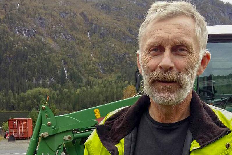 Svein Tveiten fra Grungedal er veldig godt fornøyd med sin Dalen Snøfres 2110.
