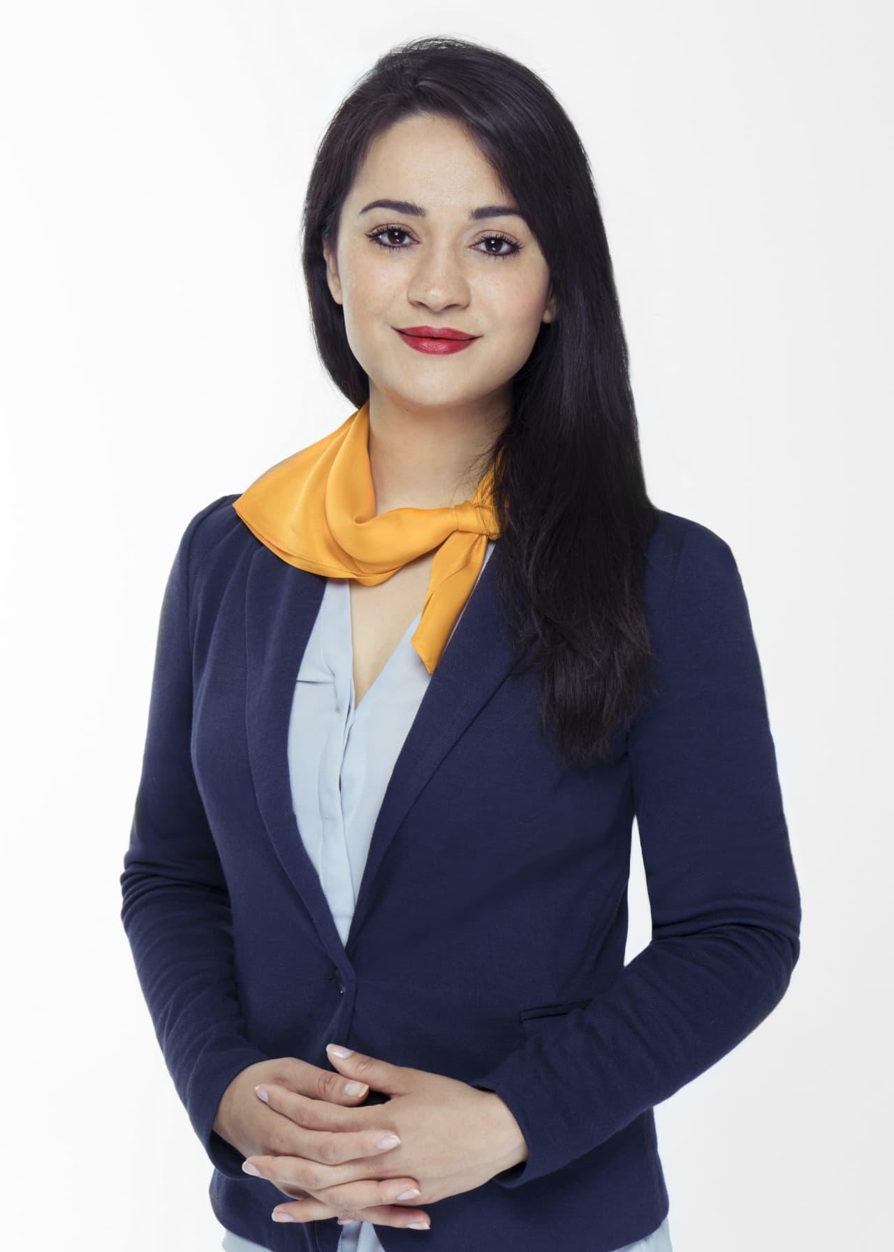 Mitarbeiterin in der Verwaltung