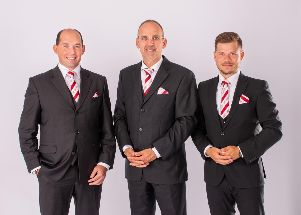 Andreas Kübler, Stephan Wohner, Christopher Pfeiffer