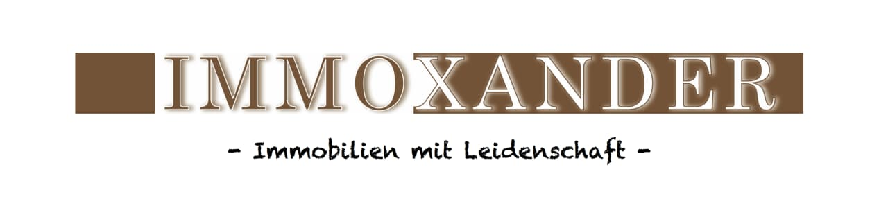 Hier sehen Sie das Logo von Immoxander