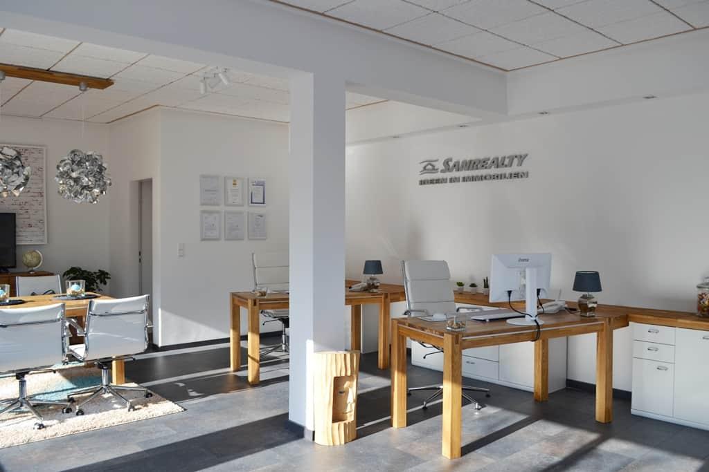 Einblick in unser Büro