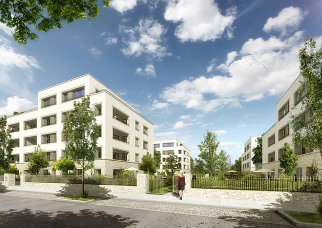 2015-2013 Verkauf von 71 Eigentumswohnungen | Frankfurt-Riedberg