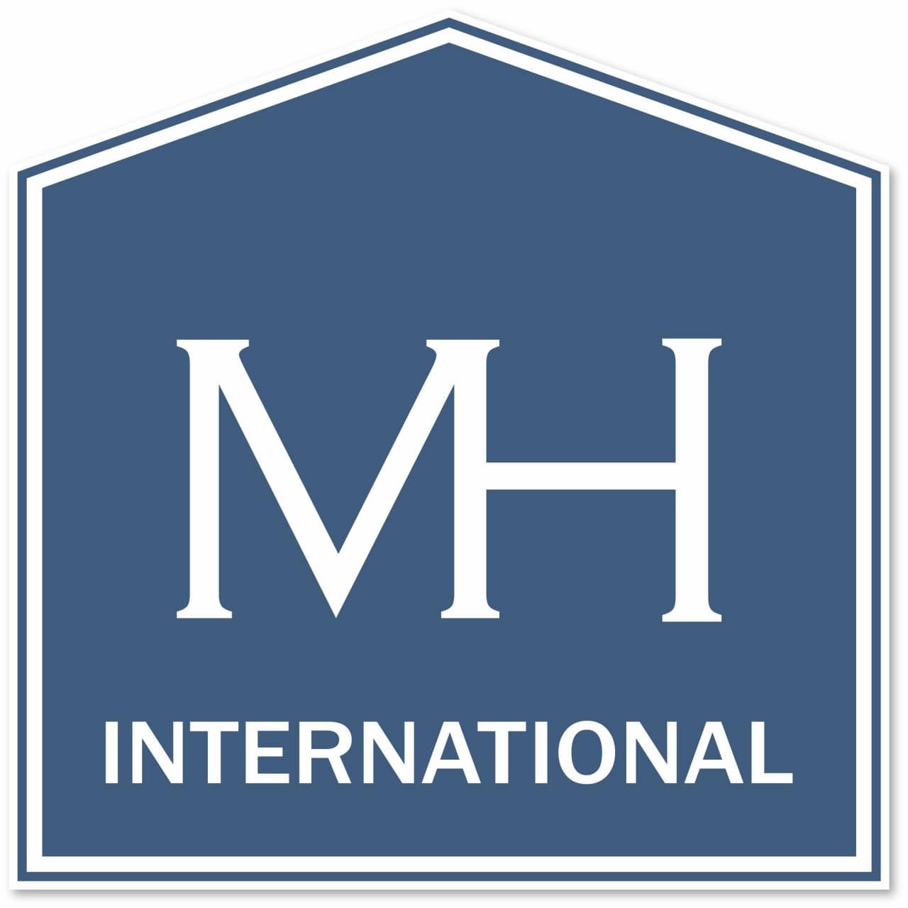 Hier sehen Sie das Logo von MH International - Immobilien