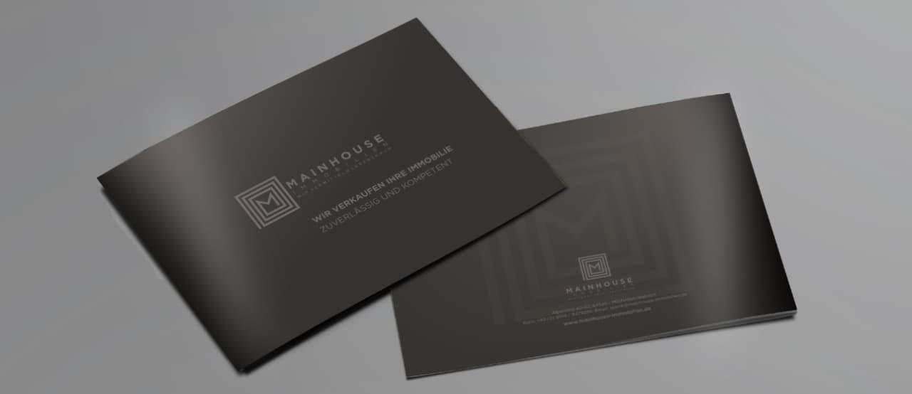 Verkaufsbroschüre als kostenlos PDF auf www.mainhouse-immobilien.de  zum Download.