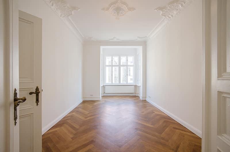 100 m² | 4 Zimmer | Stuckelemente