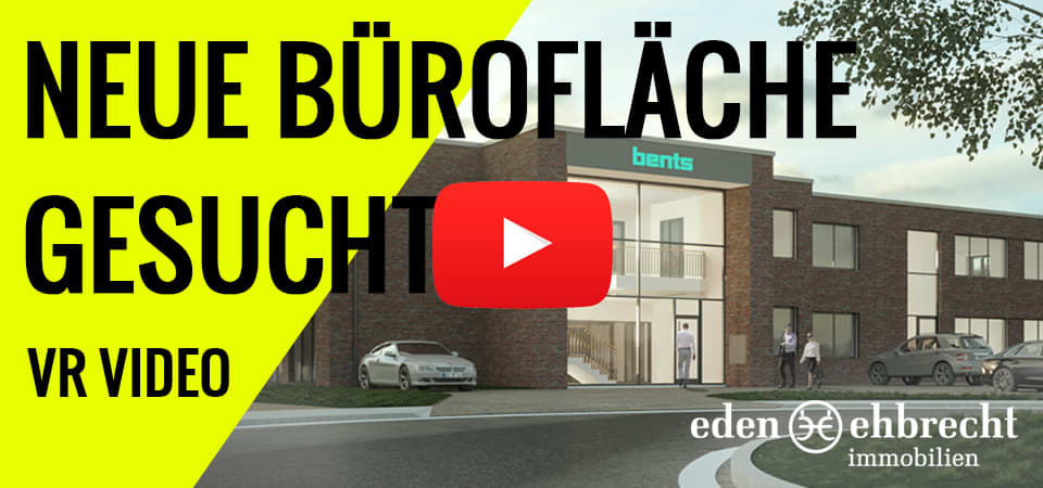 Der Büro Neubau von Bents im Gewerbegebiet Tweelbäke wird ebenfalls von uns vermarktet. Hier nutzen wir BIM - Building Information Modelling und VR - Virtual Reality um bereits in der Planungsphase eine hochwertige Vermarktung zu garantieren.