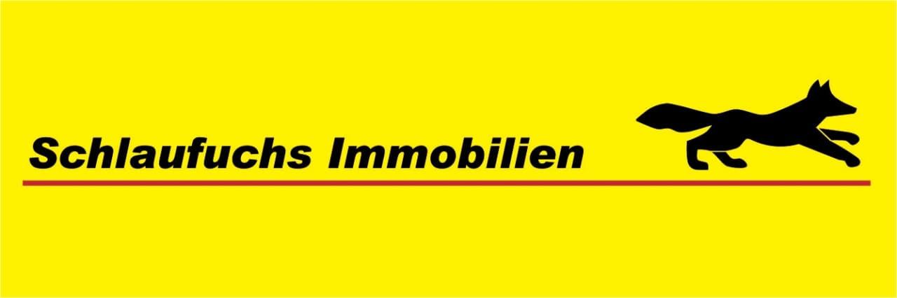 Hier sehen Sie das Logo von Schlaufuchs-Immobilien.de