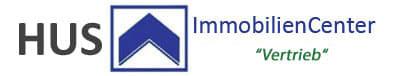 """Hier sehen Sie das Logo von HUS ImmobilienCenter """"Real Estate & Property"""""""