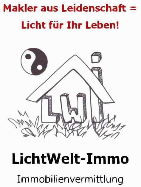 Das Logo von LichtWelt-Immo Immobilienvermittlung aus Wolfenbüttel, Immobilienmakler für die Region 38