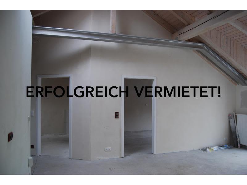 Neubau einer Loftwohnung in Mannheim. Nach 14 Tagen bereits erfolgreich vermietet!