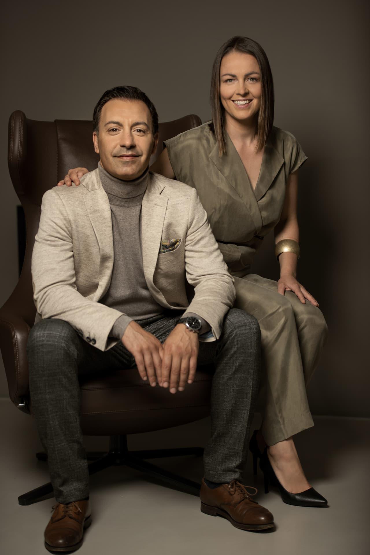 Silvio Mereu und Nadine Prüfer