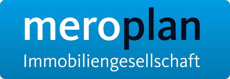 Hier sehen Sie das Logo von meroplan Immobilien GmbH