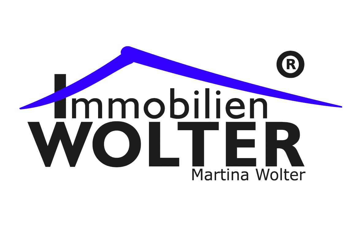 Hier sehen Sie das Logo von Immobilien Wolter