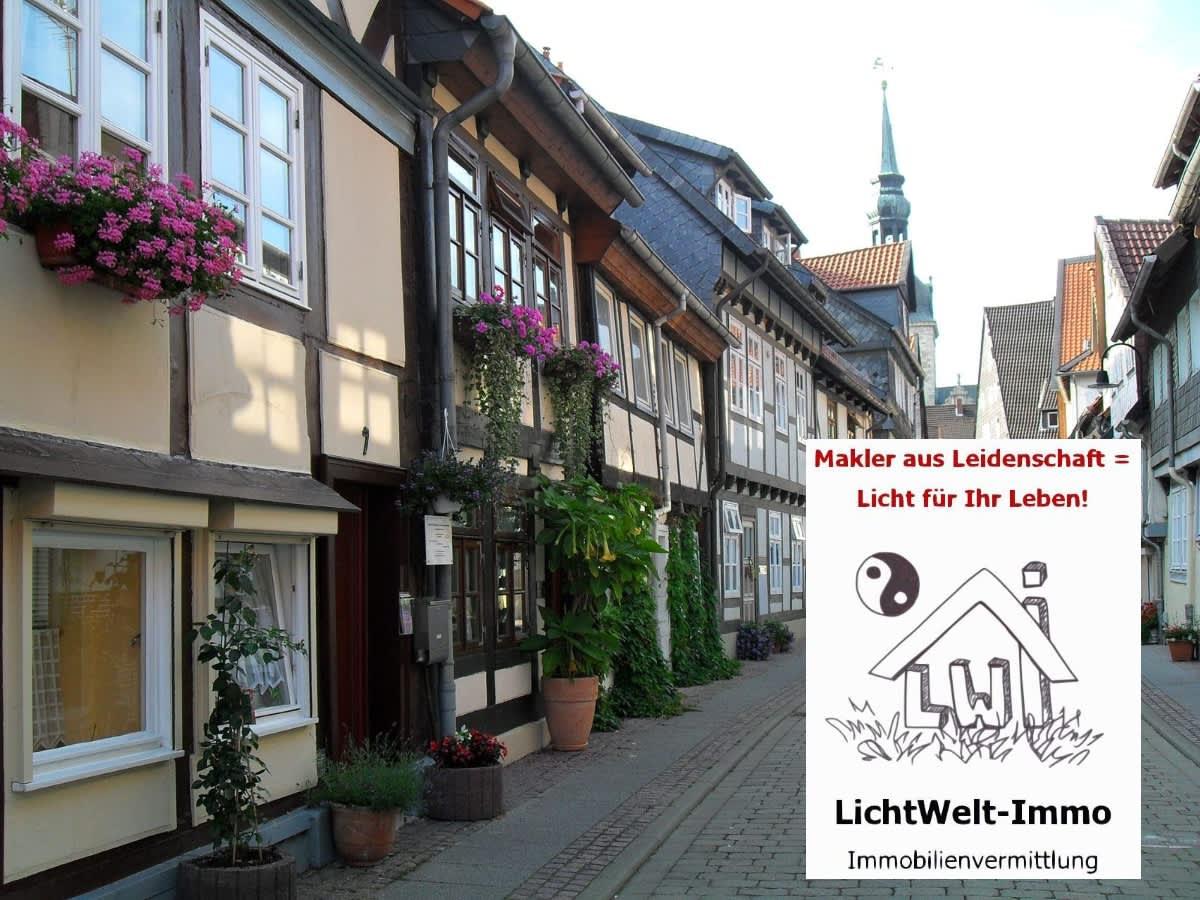 Die Maurenstraße in Wolfenbüttel haben wir schon viele Jahre als Hintergrundbild für uns ausgewählt